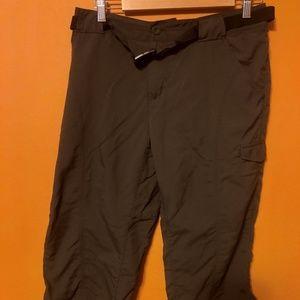 Womens Columbia OMNI-SHADE Capri Pants size 10